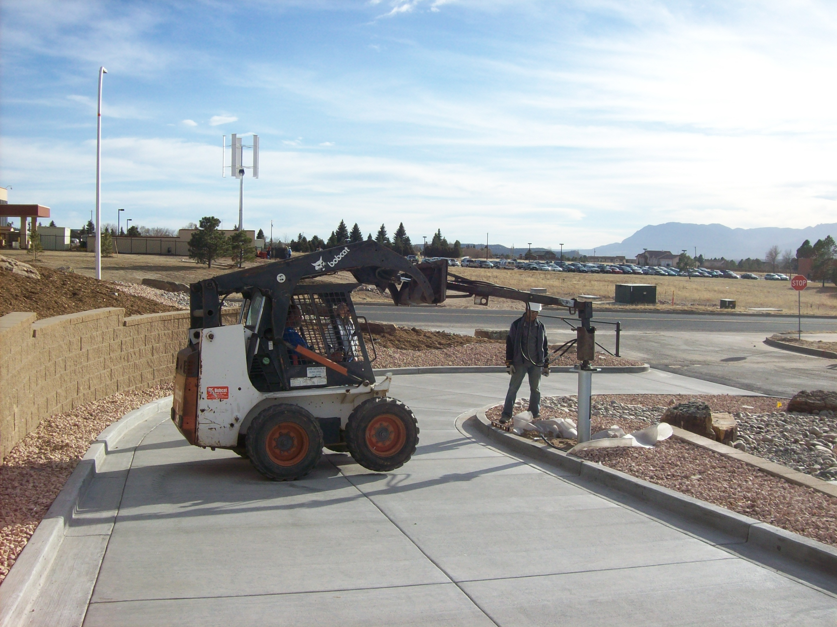Southern Colorado Helical Piers Equipment